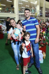 Chegada do Papai Noel @ Santa Cruz Shopping