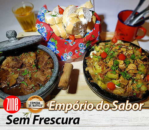 Comida di Buteco Juiz de Fora - Prato do Bar Empório do Sabor